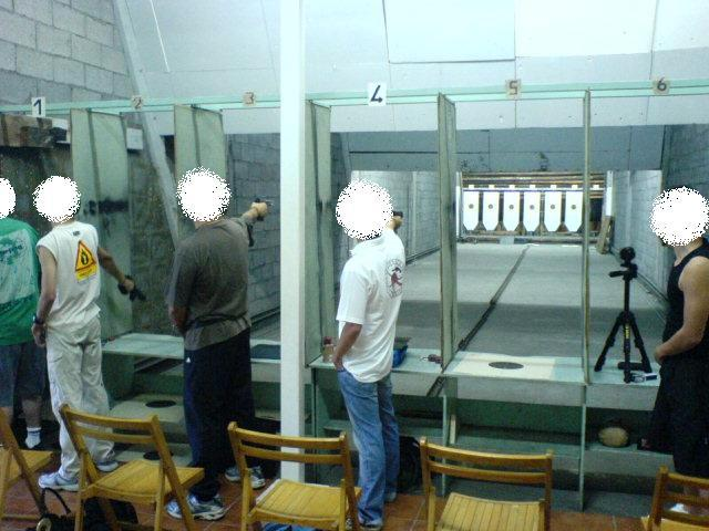 Tirer au pistolet à 25m à St Denis de la Réunion 974
