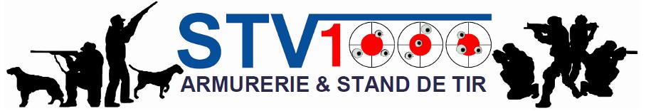 Entête commune du site internet STV1000 Armurerie et Stand de Tir