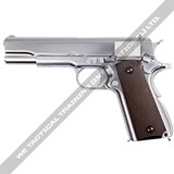WE - M1911 SILVER - Full Metal (GBB)